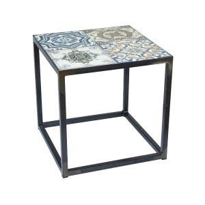 Spinder Design Sidetable IBIZA 40 x 40 - Blacksmith