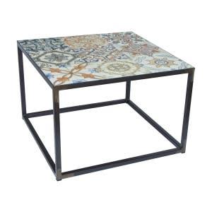 Spinder Design Sidetable IBIZA 60 x 60  - Blacksmith